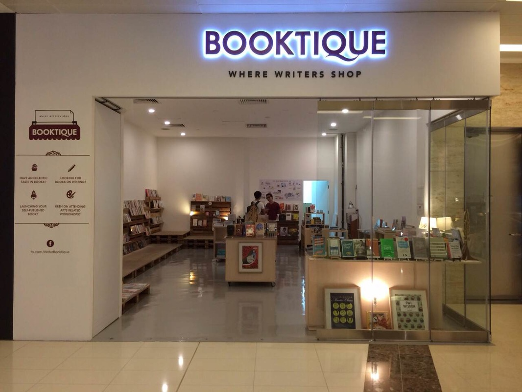 Booktique front entrance