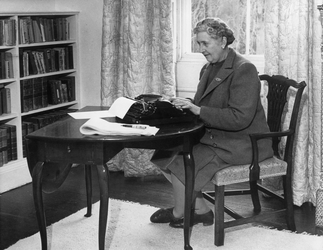 Before Agatha Christie Settled Down On Her Desk To Write She Needed Find Notebook Scribbled With Ideas And Not Necessarily The Same That