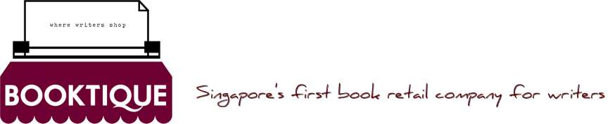 The first book retail company for writers in Singapore